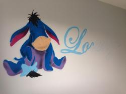 Winnie l ourson disney graff graffiti fresque